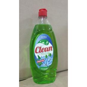 Засіб для миття посуди  Clean 900мл. Сенситив