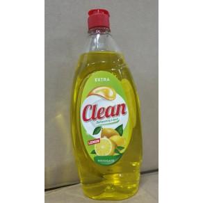 Засіб для миття посуди  Clean 900мл. Лимон