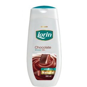 Гель для душу Lorin 300мл. Шоколад