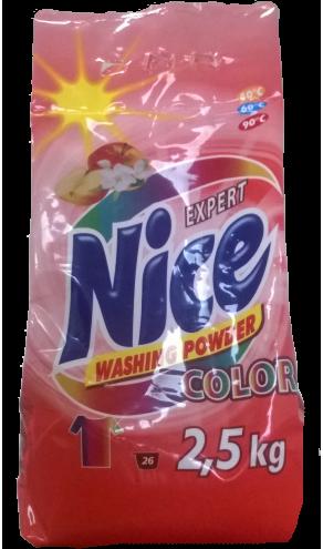 Nice Експерт пральний порошок 2,5кг Колор