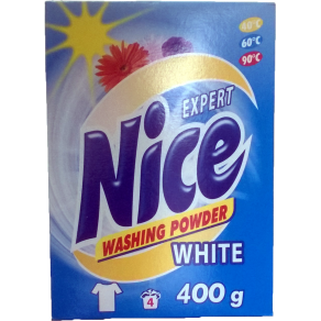 Nice Експерт пральний порошок 400г Біл.