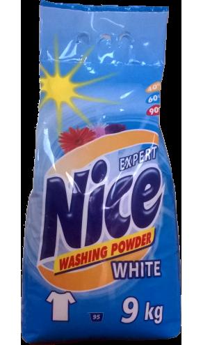 Nice Експерт пральний порошок 9кг Біл.