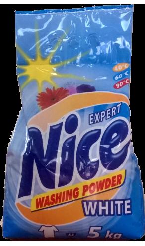 Nice Експерт пральний порошок 5кг Біл.