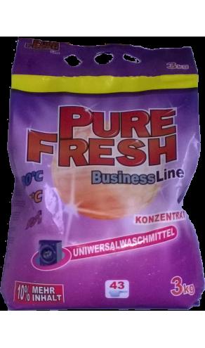 Pure Fresh пральний порошок 3кг. універсал 43 прань