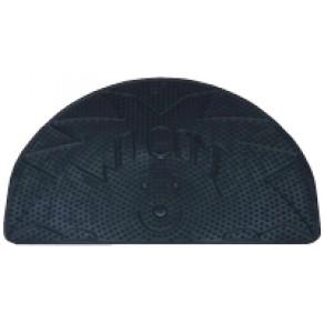 Гумовий килимок вигнутий для ніг 560x355x6 мм