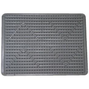 Гумовий килимок малий  для ніг 395х295х7 мм