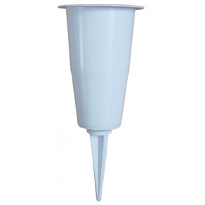 Надмогильна ваза з голкою 27 см