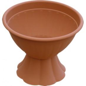 Квіткова чаша з малою ніжкою 25 см