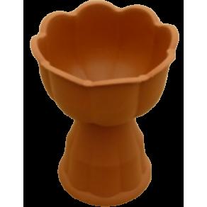 """Квіткова чаша """"Тюльпан"""" з великою ніжкою"""