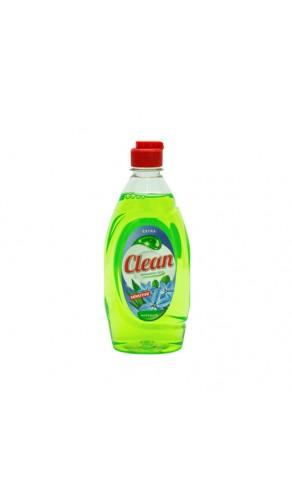Засіб для миття посуду Clean 900мл Сенситив